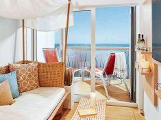 AIDAcosma Juniorsuite mit Lounge