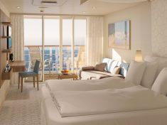 AIDAmira Junior-Suite mit Balkon