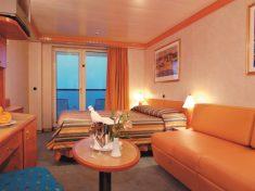 Costa Mediterranea Balkonkabine