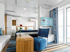 TUI Cruises Mein Schiff 5 Familienkabine mit Balkon
