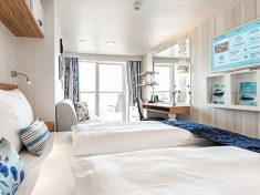 TUI Cruises Mein Schiff 5 SPA-Balkonkabine