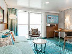 Mein Schiff 6 Junior-Suite mit Balkon