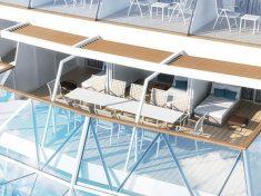 Mein Schiff 6 Kombi-Balkonkabine