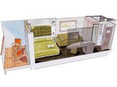 MSC Meraviglia Balkon