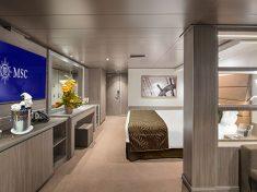 MSC Seaview Yacht Club Innenkabine