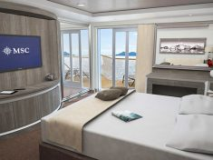 MSC Seaview Yacht Club Royal Suite