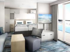 TUI Cruises Mein Schiff 2 Balkonkabine für Familien