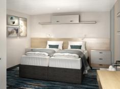 TUI Cruises Mein Schiff 2 Innenkabine
