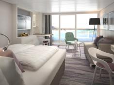 TUI Cruises Mein Schiff 2 Juniorsuite mit Balkon
