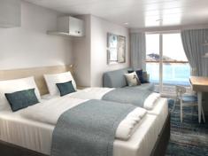 TUI Cruises Mein Schiff 2 Verandakabine Premium