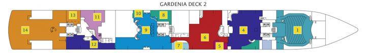 Costa Deliziosa Deck 2