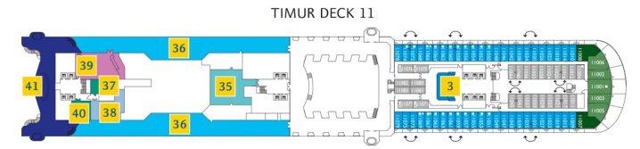 Costa Diadema Deck 11