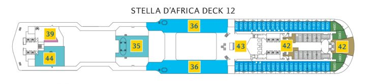 Costa Diadema Deck 12