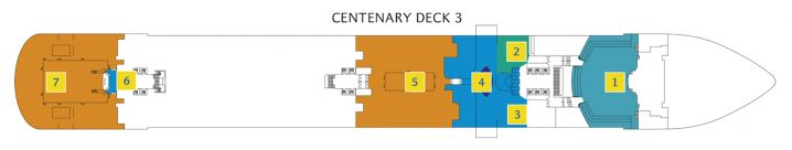 Costa Diadema Deck 3
