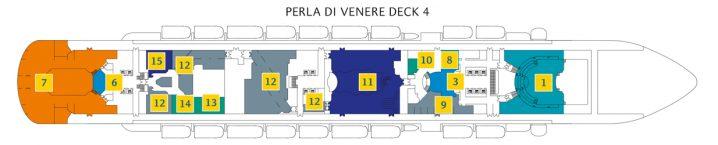 Costa Diadema Deck 4