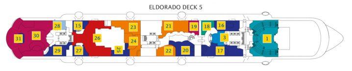 Costa Diadema Deck 5