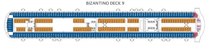 Costa Diadema Deck 9