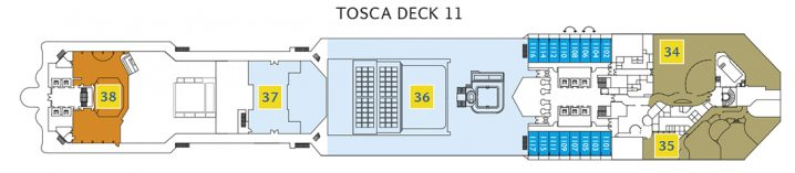 Costa Fascinosa Deck 11
