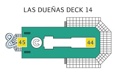 Costa Favolosa Deck 14