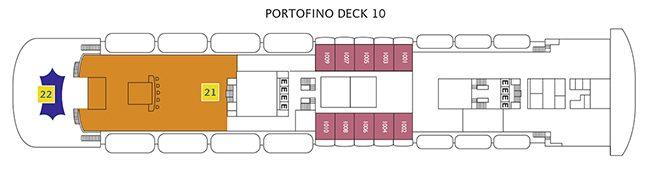 Costa neoClassica Deck 10