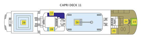 Costa neoClassica Deck 11