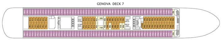 Costa neoClassica Deck 7
