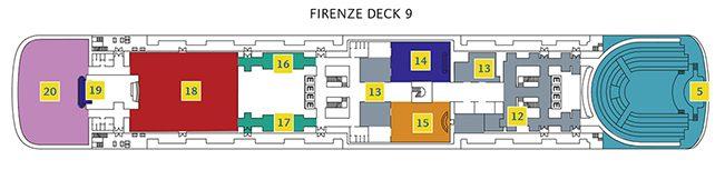 Costa neoClassica Deck 9