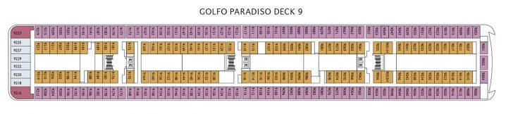 Costa neoRiviera Deck 9