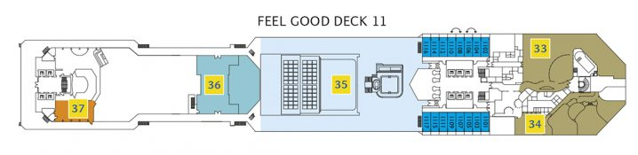 Costa Pacifica Deck 11