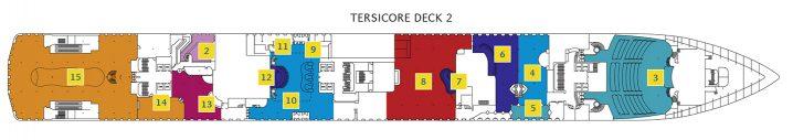Costa Mediterranea Deck 2