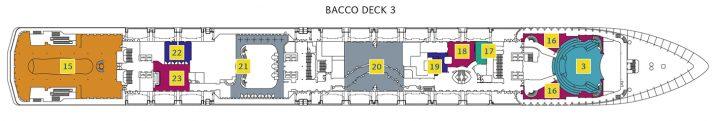 Costa Mediterranea Deck 3