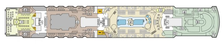 TUI Cruises Mein Schiff 1 Deck 11