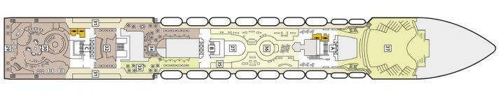 TUI Cruises Mein Schiff 1 Deck 7