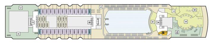 TUI Cruises Mein Schiff 2 Deck 12