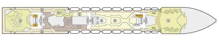 TUI Cruises Mein Schiff 2 Deck 7
