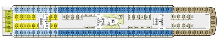 TUI Cruises Mein Schiff 2 Deck 8