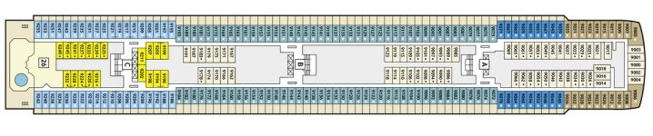 TUI Cruises Mein Schiff 2 Deck 9