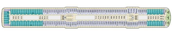 TUI Cruises Mein Schiff 3 Deck 9