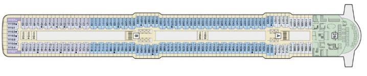 TUI Cruises Mein Schiff 4 Deck 11