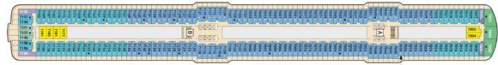 TUI Cruises Mein Schiff 4 Deck 7