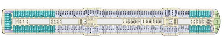TUI Cruises Mein Schiff 4 Deck 9