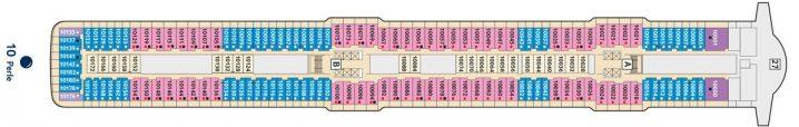 TUI Cruises Mein Schiff 5 Deck 10