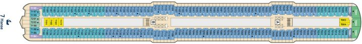 TUI Cruises Mein Schiff 5 Deck 7