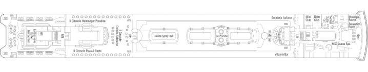 MSC Armonia Deck 11