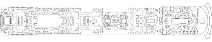 MSC Fantasia Deck 14