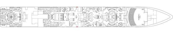 MSC Fantasia Deck 6