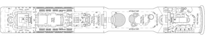 MSC Magnifica Deck 13