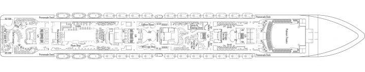 MSC Preziosa Deck 7