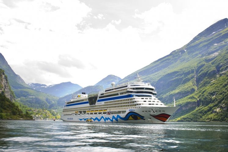 AIDAblu Fjord