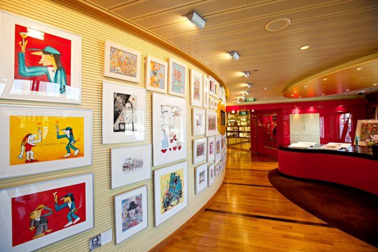 AIDAblu Kunstgalerie